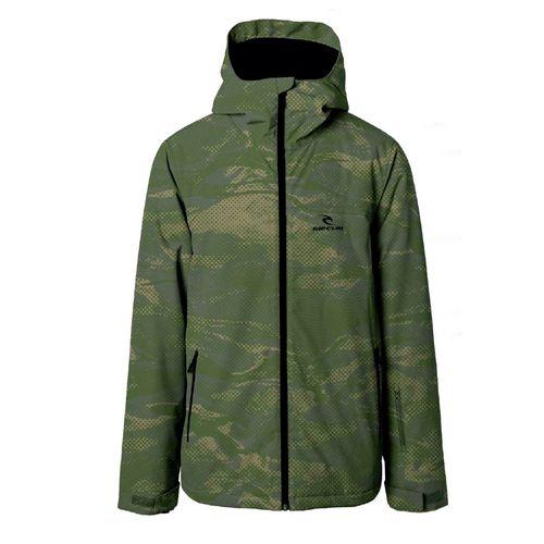 Campera-Rip-Curl-Enigma-Ski-Snowboard-Impermeable-10k-Hombre-Printed-Green-Camo--04087-B7