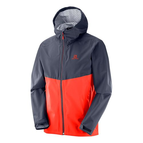 Campera-Salomon-La-Cote-Flex-2.5L-Waterproof-Impermeable-Hombre-Red-Graphite-400928