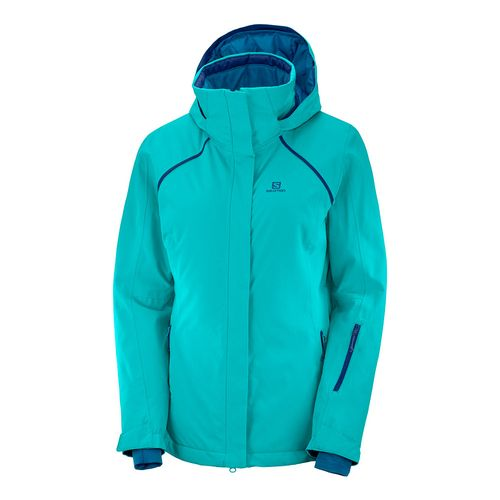 Campera-Salomon-Strike-Ski-Snowboard-Impermeable-10k-Mujer-Waterfall-404482