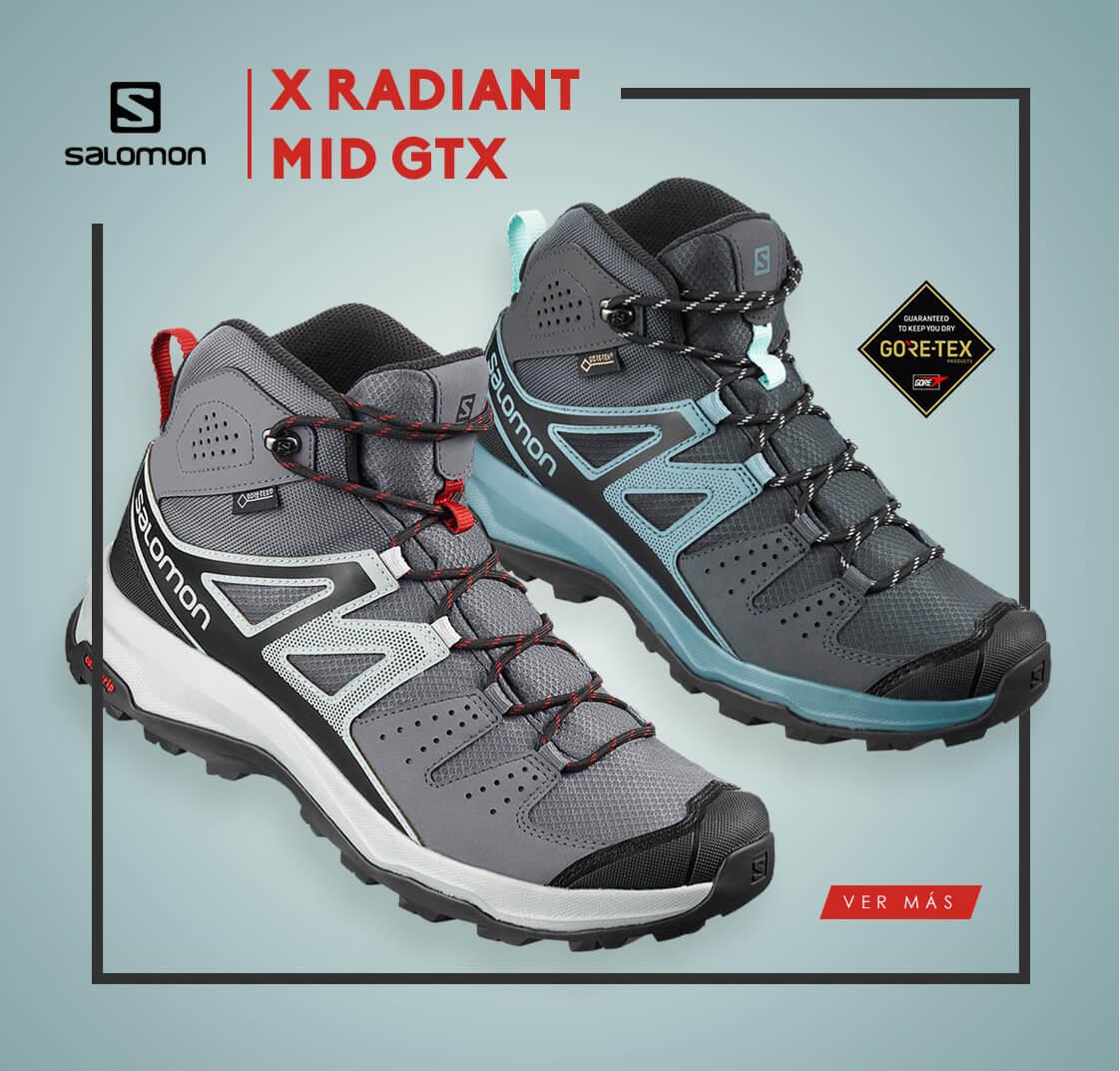 Botas Salomon X Radiant Mid GTX
