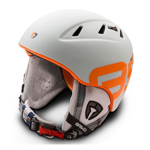 Casco-Ski-Snowboard-Briko-Amak-Silver-Steam-Unisex-White-Mate-SHE009-923