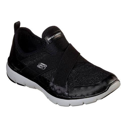 Zapatillas-Skechers-Flex-Appeal-3-0-Finest-Hour-Mujer-Black-13065-BKW