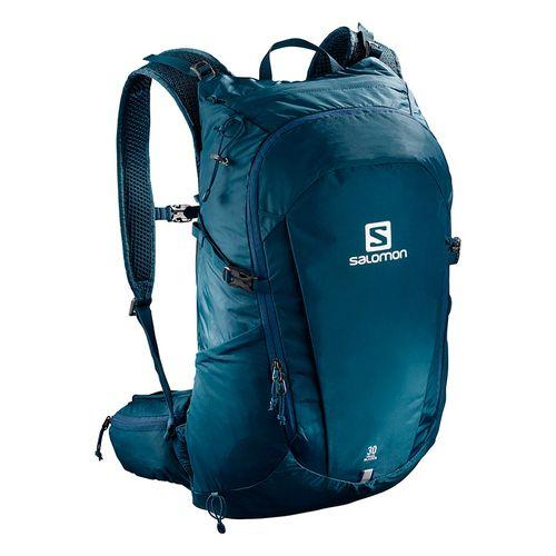 Mochila-Salomon-TrailBlazer-30-Lts-Unisex-Trekking-Blue-Poseidon-C10841