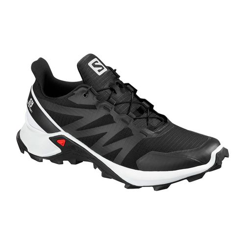 Zapatilla-Salomon-Supercross-Trail-Running-Hombre-Black-White-409297