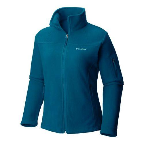 Campera-De-Polar-Columbia-Sportswear-Fast-Trek-2-Mujer-Lagoon-AL6542-457