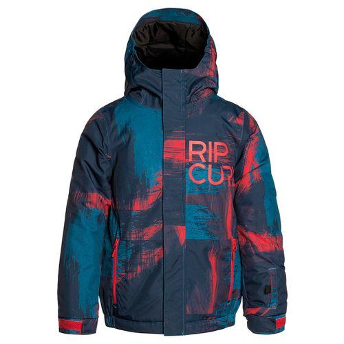 Campera-Rip-Curl-Olly-Ptd-Ski-Snowboard-Impermeable-10k-Niños-Dres-Blue-04096-B8