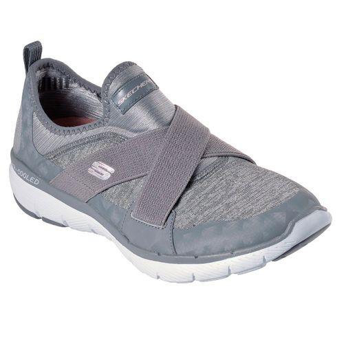 Zapatillas-Skechers-Flex-Appeal-3.0-Finest-Hour-Mujer-Grey-13065-GRY