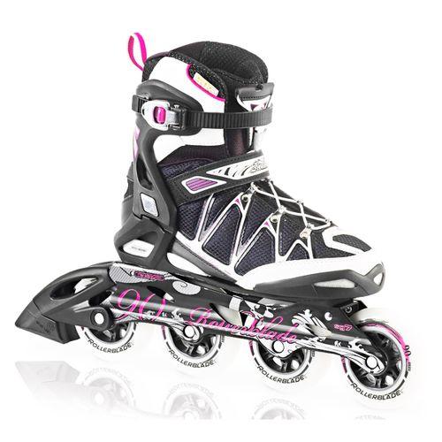 Patin-Roller-Rollerblade-Igniter-90-W-fitness-Mujer-Black-Purple-