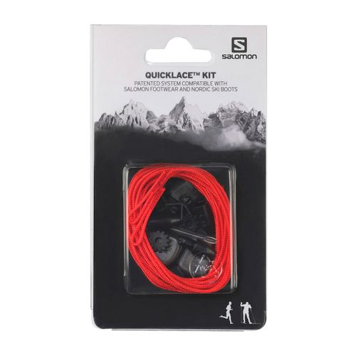 Cordones-Zapatillas-Salomon-Quicklace-Kit-Universal-Red-326674