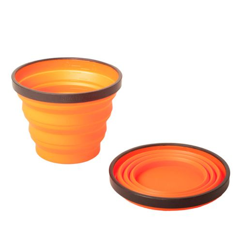 Vaso-Plegable-Sea-to-summit-X-Cup-250ml-Orange