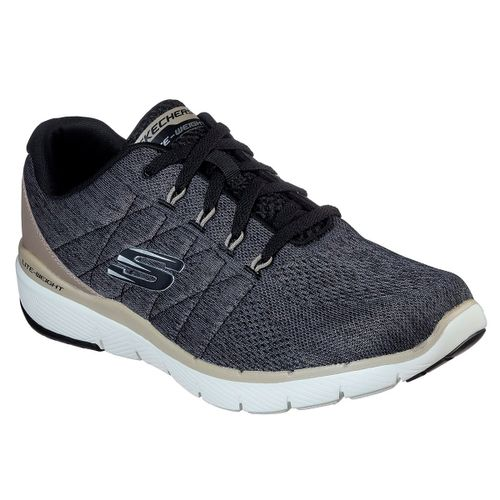Zapatillas-Skechers-Flex-Advantage-3.0-Stally-Hombre-Black-52957-BLK