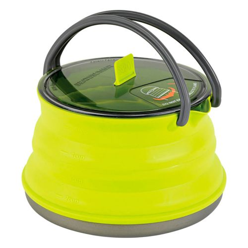 Pava-Sea-To-Sommit-X-Kettle-1.3L-Plegable-Green