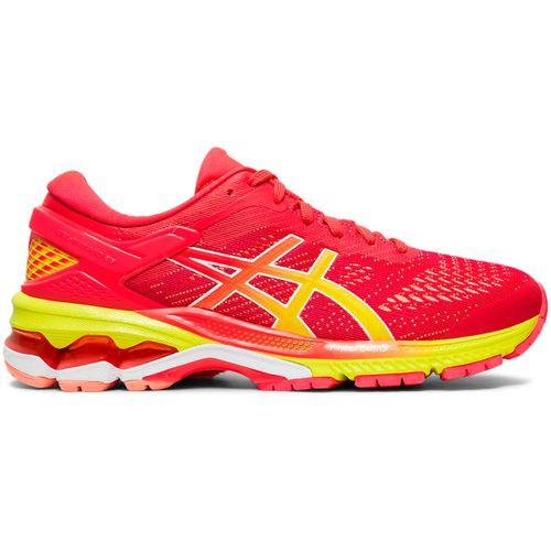 Zapatillas Asics Gel-Kayano 26 Running Pronador Mujer Laser ...