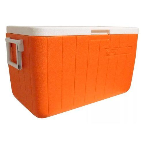 Conservadora-Coleman-Beach-48QT-45.5-Litros-Camping-Orange