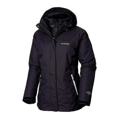 Campera-Columbia-Bugaboo-II-Ski-Snowboard-3-en-1-Impermeable-Mujer-Black