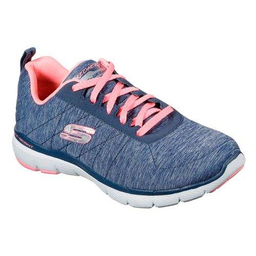 Zapatillas-Flex-Appeal-3.0-Insiders-Running-Mujer-Navy-Coral-13067-NVCL