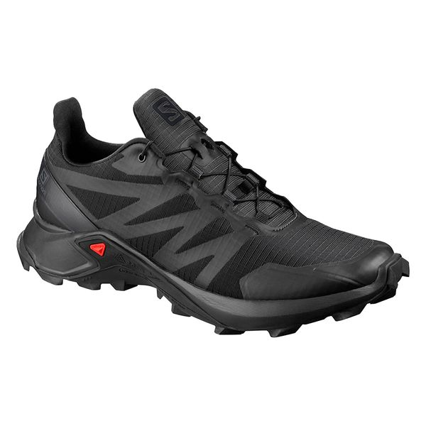Zapatilla Salomon Supercross Trail Running Hombre Black ...