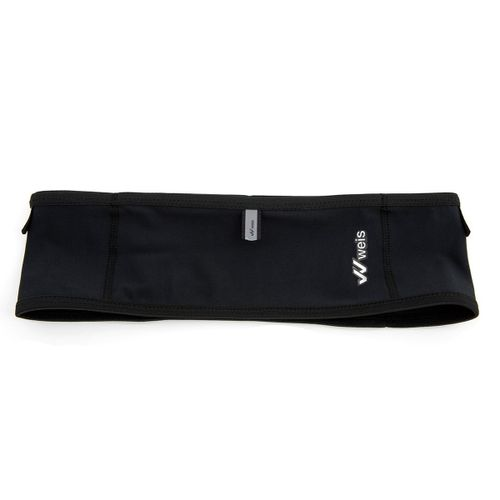 Riñonera-Cinturon-Weis-Porta-Bastones-Trail-Running-Black-101367