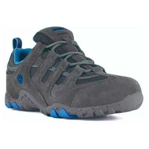 Zapatillas-Hi-Tec-Quadra-Classic-WaterProof-Impermeable-Niño-Grey-Blue-6123-052