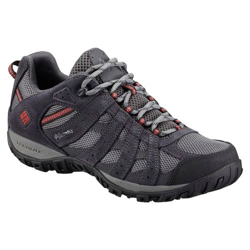 Zapatillas-Columbia-Redmond-Waterproof-Trekking-Hombre-Charcoal-Red-BM3938-030