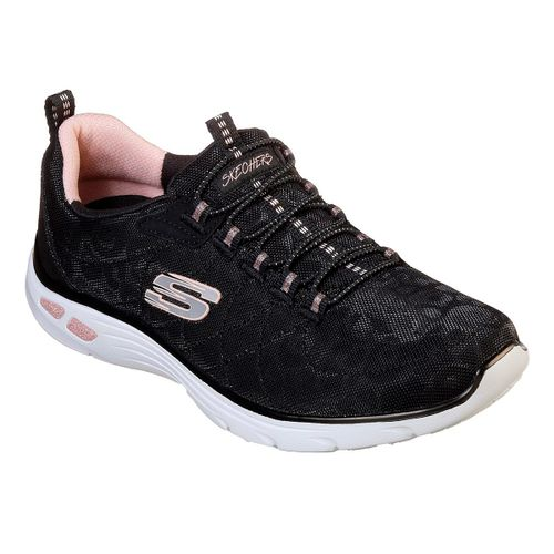 Zapatillas-Skecher-Empire-D-Lux-Spotted-Running-Mujer-Black-Rose-Gold-12825-BKRG