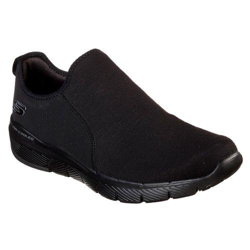 Zapatillas-Skechers-Flex-Advantage-3.0-Baywynne-Hombre-Black-52953-BBK