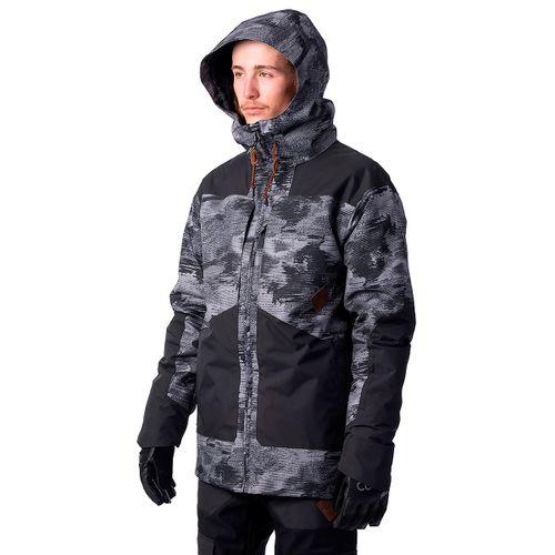 Campera-Rip-Curl-Pow-Ski-Snowboard-Impermeable-20K-Hombre-Steel-Grey-04318