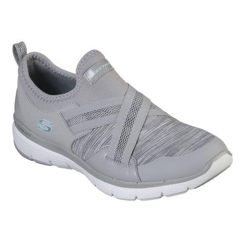 Zapatillas-Skechers-Flex-Appeal-3.0-Mujer-Gray-13073-GRY