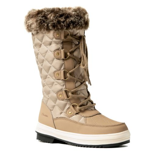 Botas-Alaska-Apreski-Zafiro-Waterproof-para-Nieve-Impermeables-Mujer-Beige-Brown-WB3197-BB-5