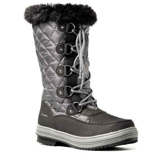 Botas-Alaska-Apreski-Zafiro-Waterproof-para-Nieve-Impermeables-Mujer-Grey-Black-WB3197-GB-5