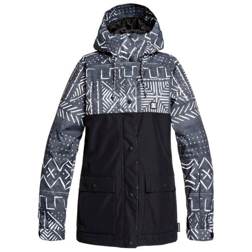 Campera-DC-Shoes-Cruiser-Ski-Snowboard-10k-Mujer-Black-Mud-Cloth-Print-1202135036