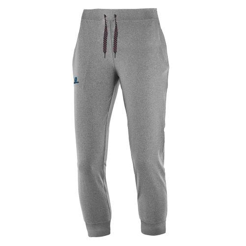 Pantalon-Salomon-Swop-Fit-Mujer-Friza-Con-Puño-Grey-16749