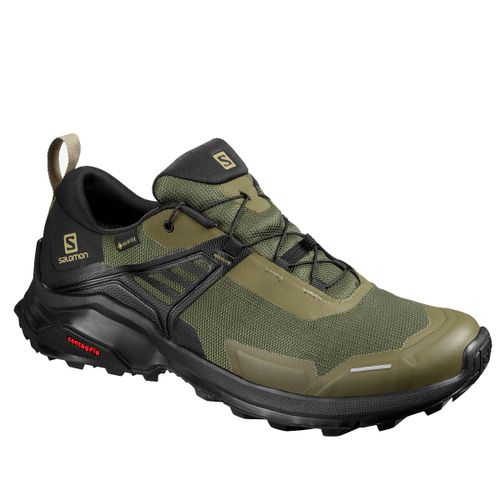 Zapatillas-Salomon-X-Raise-GTX-Trekking-Gore-Tex-Hombre-Grape-Leaf-Black-410416