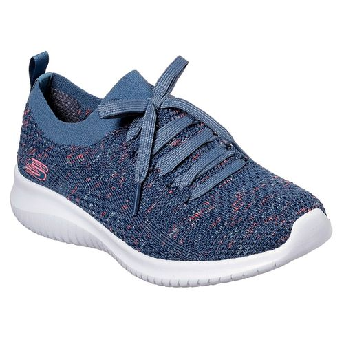 Zapatillas-Skechers-Ultra-Flex-Running-Mujer-Navy-13101-NVPK