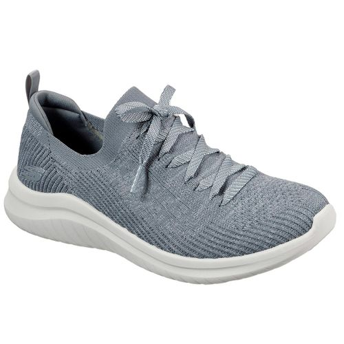 Zapatillas-Skechers-Ultra-Flex-Flash-Illusion-Running-Mujer-Gray-13356-GRY