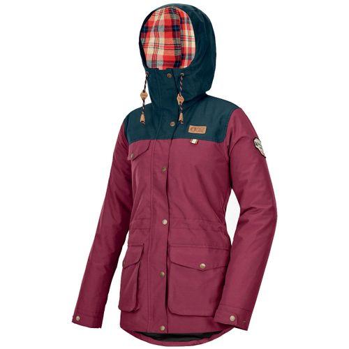 Campera-Picture-Kate-Ski-Snowboard-10k-Prenda-Ecologica-Mujer-Burgundy-WVT155-BUR