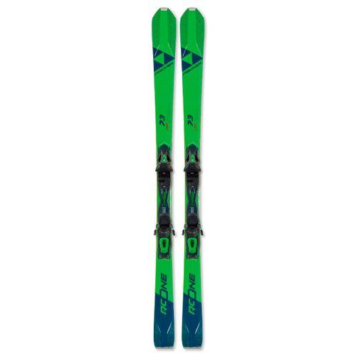Tablas-de-Ski-Fischer-RC-One-73-Allride---Fijaciones-RS11-GW-PR-Hombre-Green-A09419