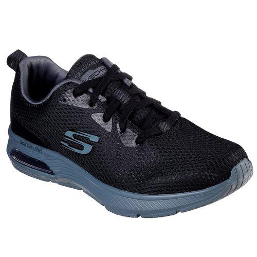 Zapatillas-Skechers-Air-Ultra-Running-Hombre-Black-52556-BKCC