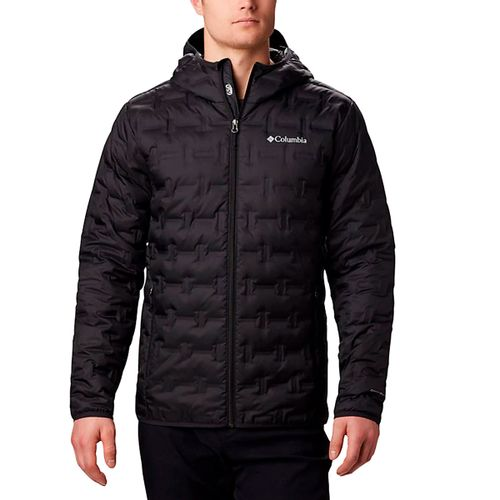 Campera-Columbia-Delta-Ridge-Down-Hooded-Pluma-Hombre-Black-WO0954-010