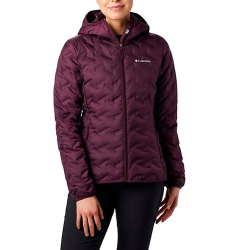 Campera-Columbia-Delta-Ridge-Down-Hooded-Pluma-Mujer-Cherry-MK0260-522