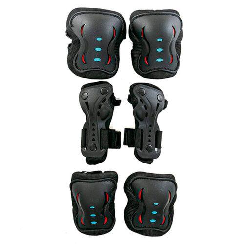Set-de-Protecciones-Acon-Roller-Unisex-Black