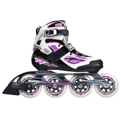 Patin-Roller-Rollerblade-Tempest-90-Fitness-Mujer-White-Purple