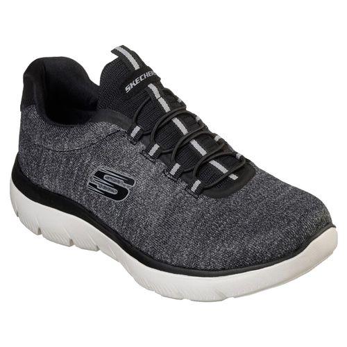 Zapatillas-Skechers-Summits-Forton-Running-Training-Hombre-BlancoNegro-52813-BKW