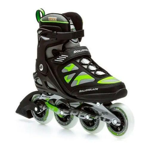 Patin-Rollerblade-Macroblade-90-Hombre-Black-Green