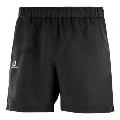 Short-Salomon-4-Way-Basic-Running-Training-Hombre-Black-16781
