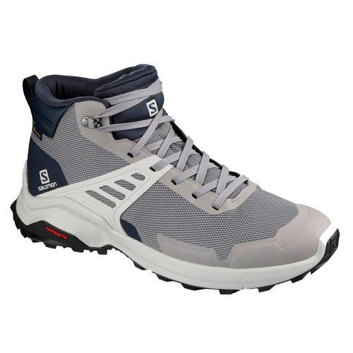 Botas-Salomon-X-Raise-Mid-GTX-Gore-Tex-Trekking-Senderismo-Hombre-Frost-Gray-410266