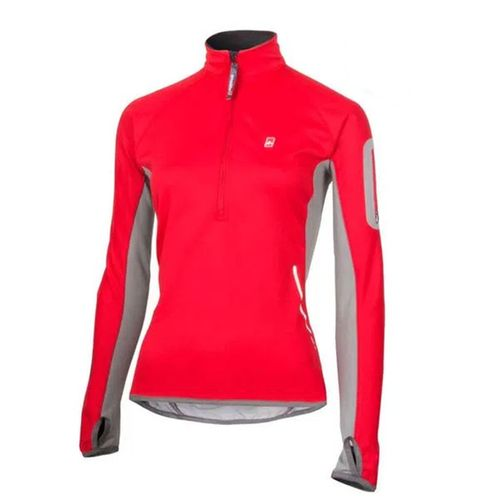 BUZO-ANSILTA-CICLON-WINDSTOPPER-SOFT-SHELL-MUJER-GRIS-CLARO-ROJO
