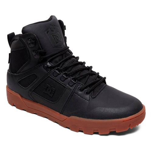 Botas-DC-Shoes-Pure-Hi-Top-Waterproof-Hombre-Black-Gum-1212112102