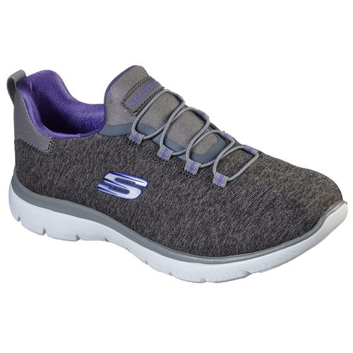 Zapatillas-Skechers-Summits-Quick-Getaway-Running-Mujer-Charcoal-12983-CCPR