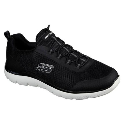 Zapatillas-Skechers-Summits-Repinski-Running-Hombre-Black-White-232060-BKW